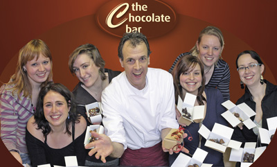 The Chocolate Bar Nijmegen met Marc Willemse